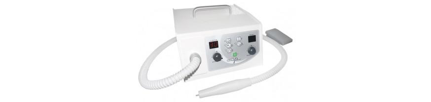 Аппараты с пылесосом (автоматический зажим инструмента)