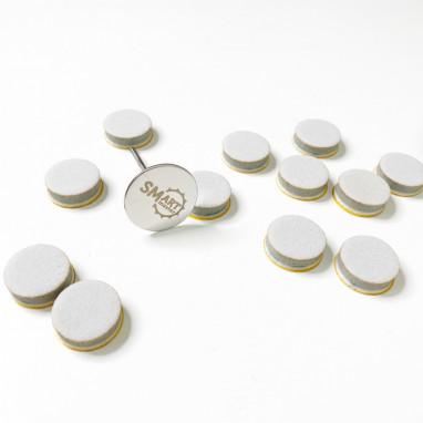 спонжик диск М для идеальной полировки (25 шт)