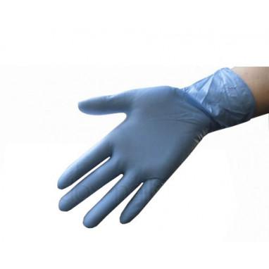 Перчатки нитриловые 10 пар/уп. голубые