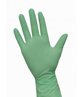 Перчатки нитриловые NitriMax цвет зелёный 50 пар./уп.