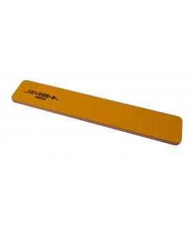 Пилка 180 / 220 двухсторонняя прямая оранжевая