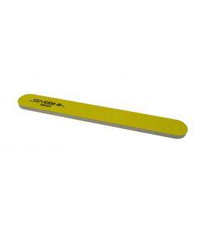 Пилка 180 / 320 двухсторонняя прямая желтая