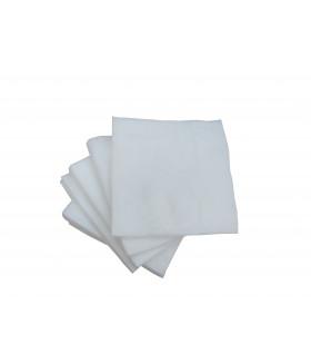 Салфетки 20х20 см спанлейс белые