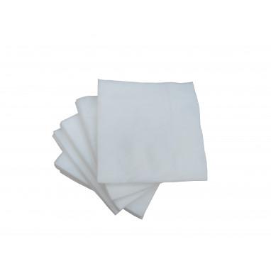 Салфетки 30х40 см. 100 шт. спанлейс белые