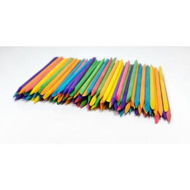 Апельсиновые палочки 100 шт. цветные