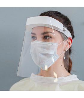 Экран защитный для лица многоразовый+ 5 медицинских масок
