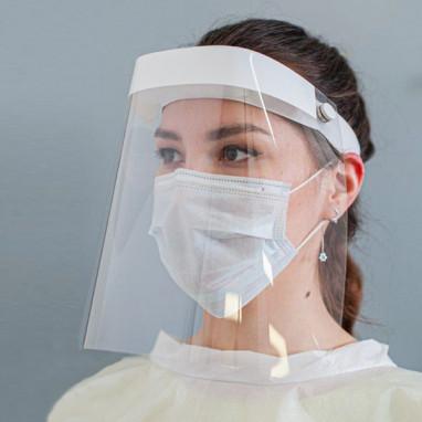Экран защитный для лица многоразовый+ 5 масок