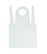 Фартук одноразовый белый п/э (100 шт.)