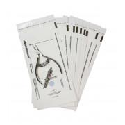 Пакеты белые бумажные для стерилизации 100х200 мм DGM Steriguard (100 шт./уп.)