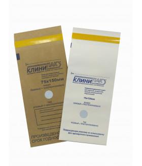 Пакеты бумажные для стерилизации 75х150 мм 100 шт./уп.