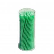 Аппликаторы одноразовые  S (1.0 мм зеленые) 100 шт.