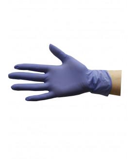Перчатки нитриловые S фиолетовые KLEVER 50 пар