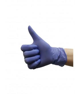 Перчатки нитриловые M фиолетовые KLEVER 50 пар