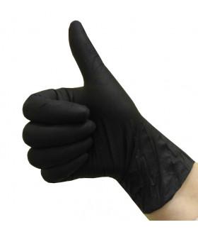 Перчатки нитриловые NitriMax уп./50 пар чёрные