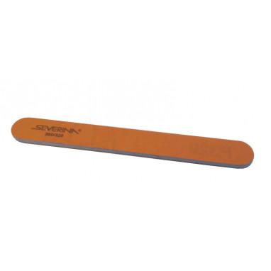 Пилка  280 / 320 двухсторонняя прямая оранжевая