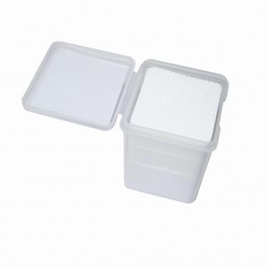 Салфетки в диспенсере (уп.180 шт.) перфорированные безворсовые