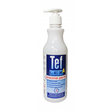 ТефлексА (дозатор) антисептик для рук 0,5л.