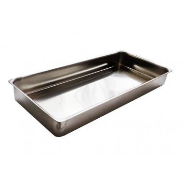 Лоток ЛП-195 прямоугольный металлический 195х90х25