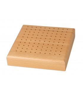 Подставка для боров и фрез 10 х 10 деревянная
