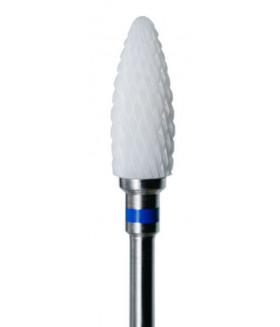 Фреза керамическая ДЛЯ ЛЕВШЕЙ (синяя полоса) средняя нарезка
