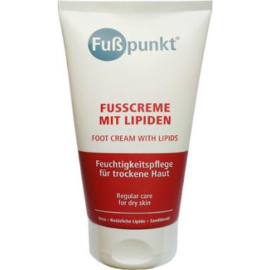 FussPunkt Fusscreme mit Lipiden Липидный крем для сухой кожи 150 мл