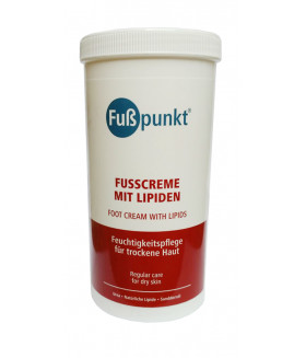 FussPunkt Fusscreme mit Lipiden Липидный крем для сухой кожи 450 мл