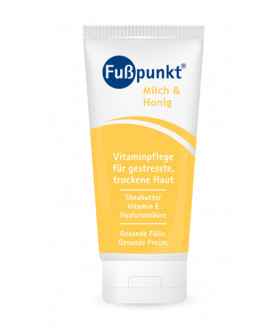 Fusspunkt Крем для поврежденной кожи молоко/мед 150 мл