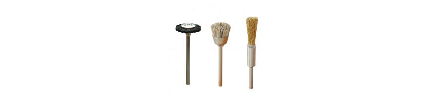 Щетки для чистки фрез. Щетки полировки ногтевой пластины.